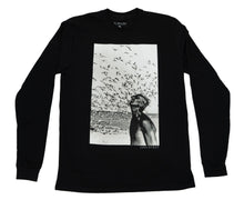 Load image into Gallery viewer, Jacques Cousteau Long Sleeve - Black (4484294475825)