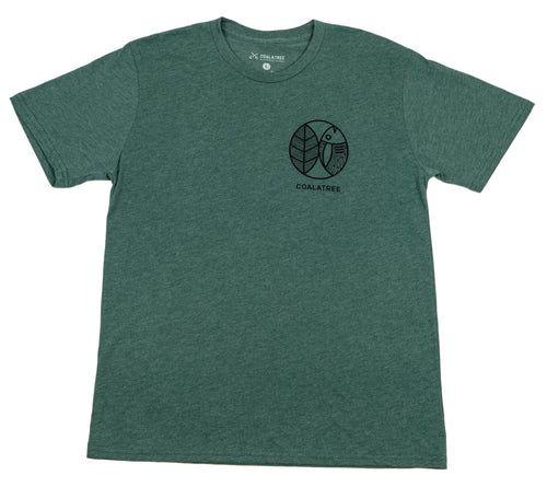 Fish Finder Tee - Green (4484302503985)