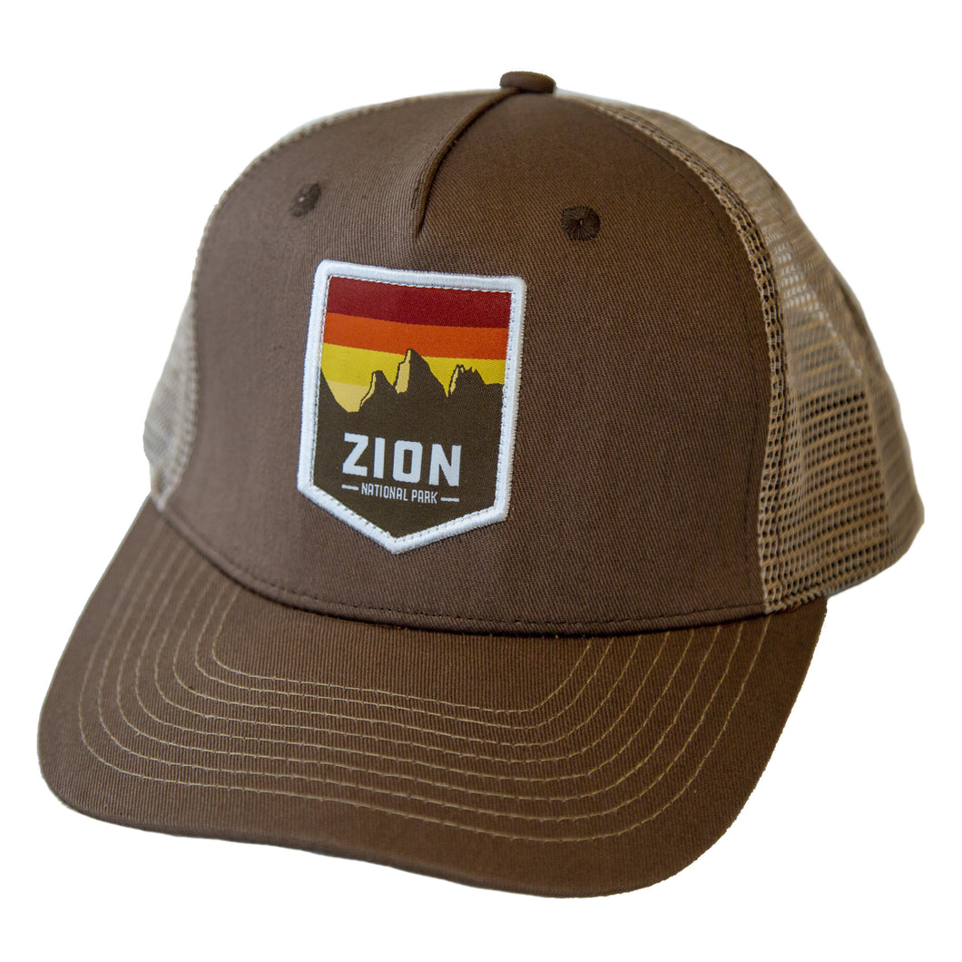 Zion National Park Hat (1391783510065)