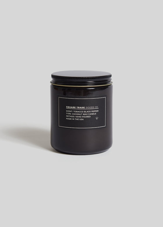 SQUARE TRADE GOODS CO - 8oz Soy Wax Blend Candle