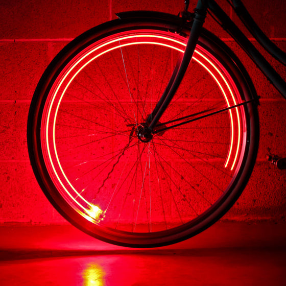 MONKEYLECTRIC - USB Rechargeable Wheel Light