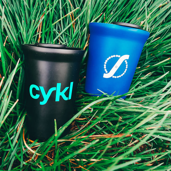 CYKL - Tumbler Blue 8 oz / Black 12 oz