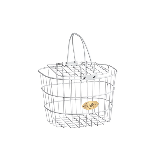 NANTUCKET - Surfside Adult Wire D Basket w/Lid
