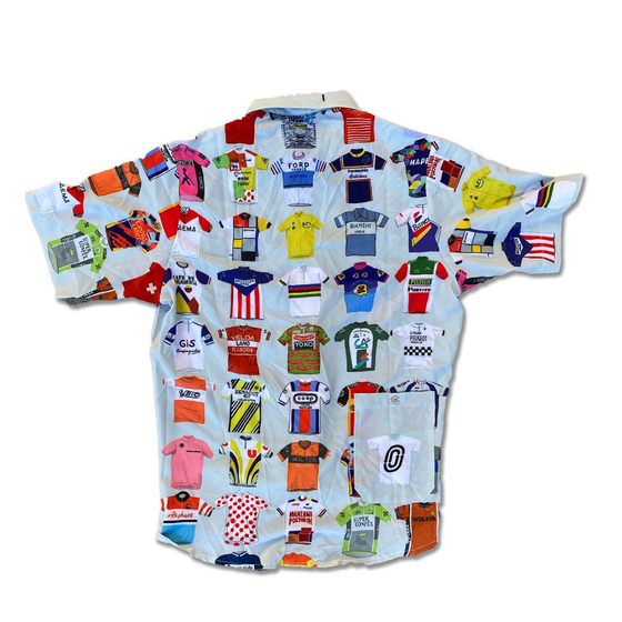 "OSTROY - Classic Cycling ""Jersey"" Resort Shirt"