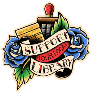 2020 Support Your Local Library Sticker