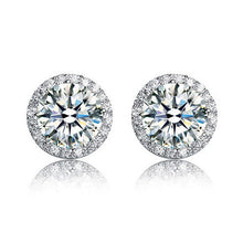 Load image into Gallery viewer, Abilene Round Cut Earrings