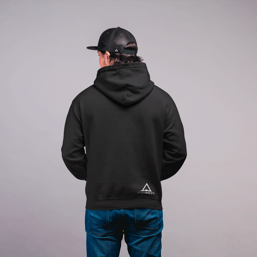 ∆SIGNATURE Eco, Unisex Pullover Hoodie - PLAY SALTY