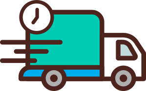 truck fast delivery icon