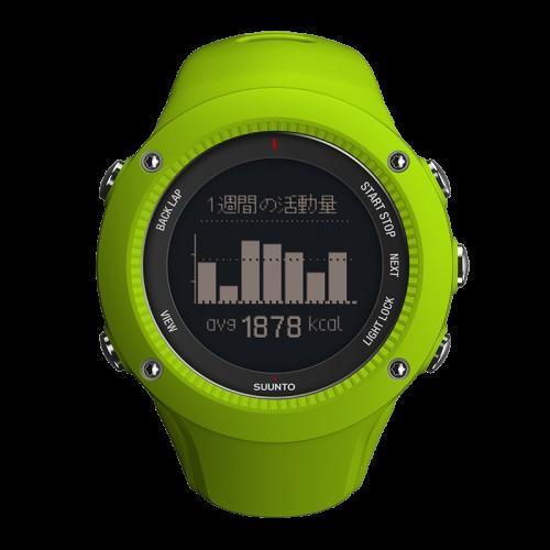 Reloj Suunto Ambit3 Run Lime Hr - Vitalefy