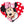 Load image into Gallery viewer, Minnie Mouse Large Heart Disney Pet ID Tag