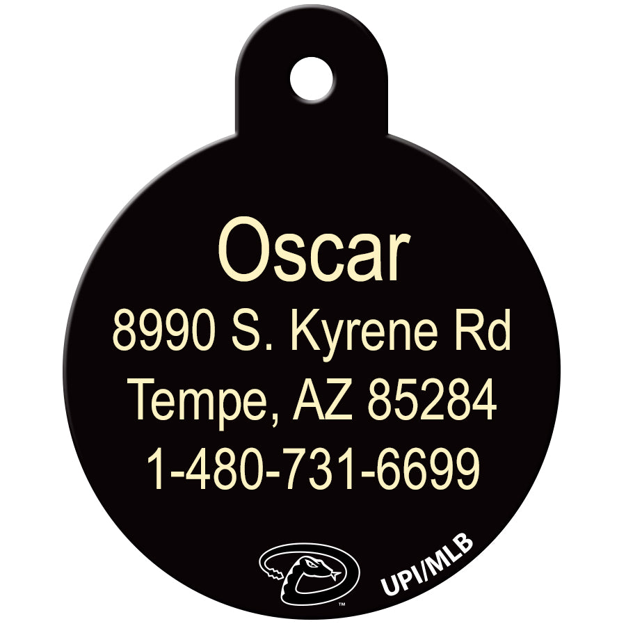 Arizona Diamondbacks Pet ID Tags