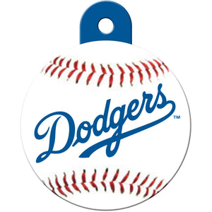 LA Dodgers Pet ID Tags