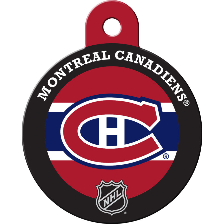Montreal Canadiens Pet ID Tags