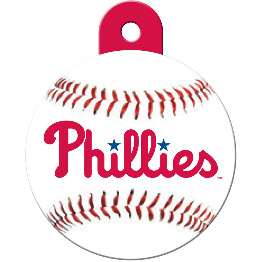 Philadelphia Phillies Pet ID Tags