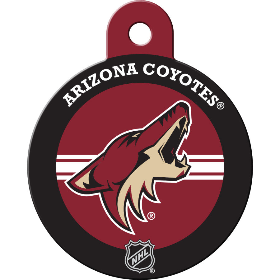 Arizona Coyotes Pet ID Tags