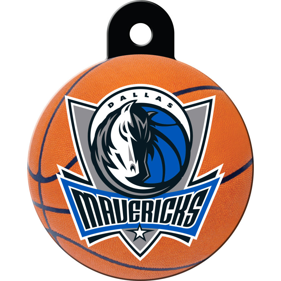 Dallas Mavericks Pet ID Tags