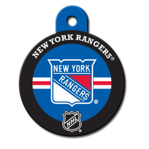 New York Rangers Pet ID Tags