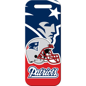 New England Patriots Luggage ID Tags