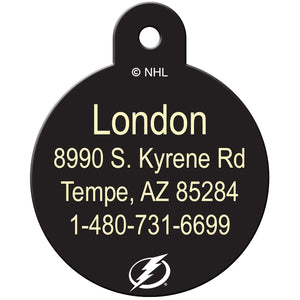Tampa Bay Lightning Pet ID Tags