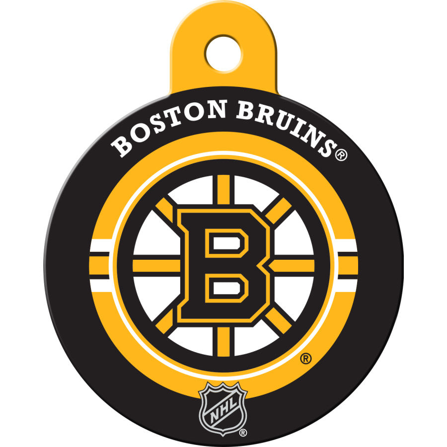 Boston Bruins Pet ID Tags