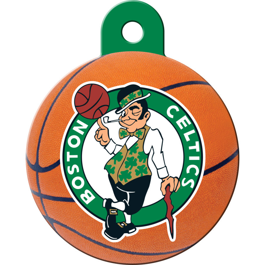 Boston Celtics Pet ID Tags