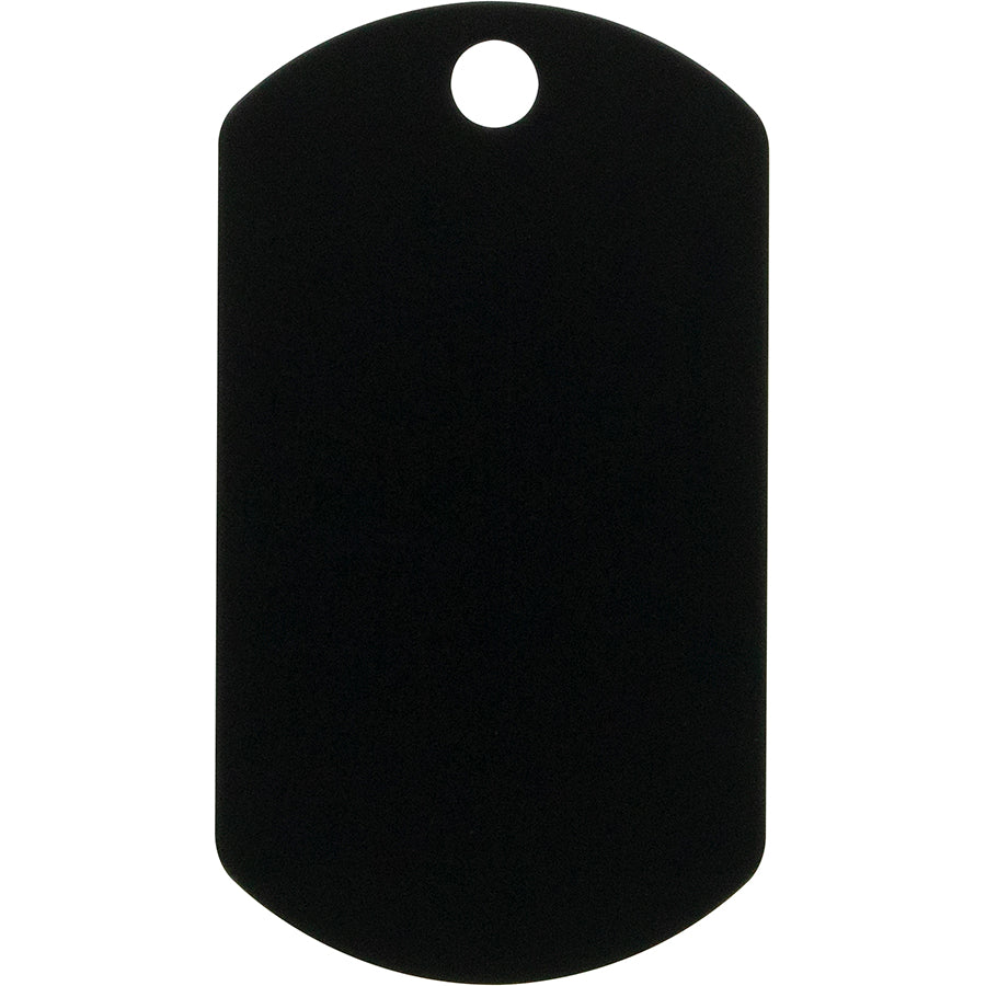 Military Shape Anodized Aluminum Pet and Dog ID Tag