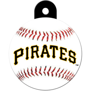 Pittsburgh Pirates Pet ID Tags