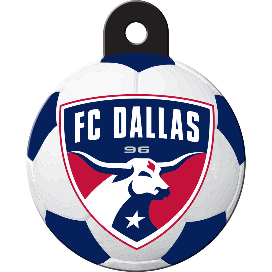 FC Dallas Pet ID Tags