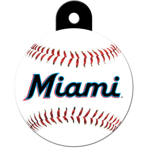 Florida Marlins Pet ID Tags