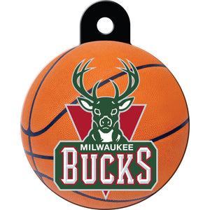 Milwaukee Bucks Pet ID Tags