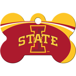 Iowa State Cyclones Pet ID Tags