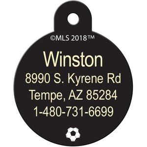 DC United Pet ID Tags