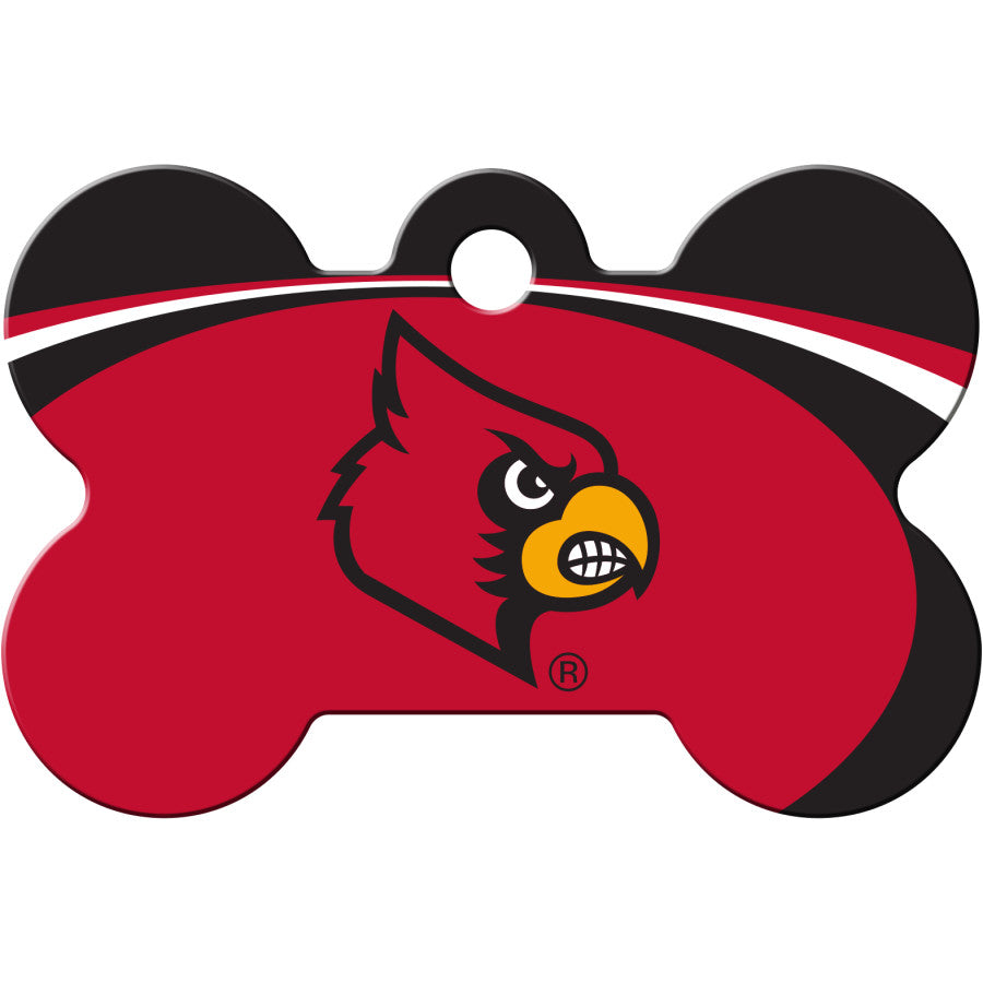 Louisville Cardinals Pet ID Tags