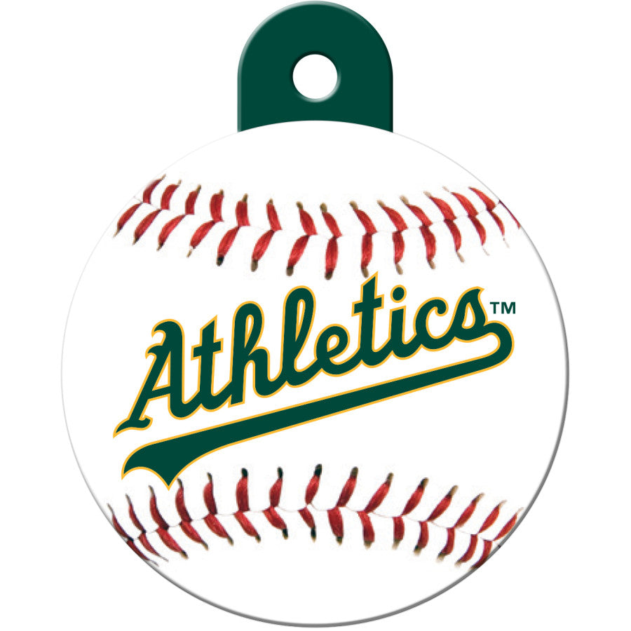 Oakland A's Pet ID Tags