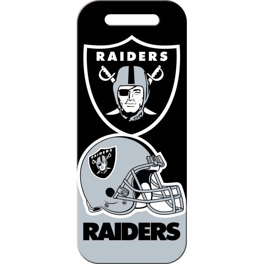 Las Vegas Raiders Luggage ID Tags