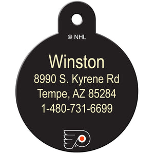 Philadelphia Flyers Pet ID Tags