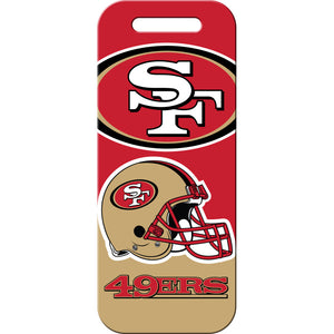 San Francisco 49ers Luggage ID Tags
