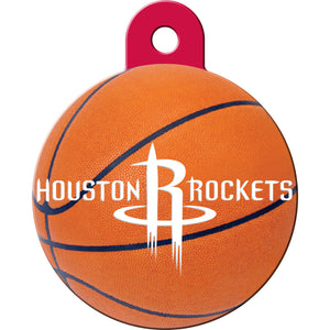 Houston Rockets Pet ID Tags