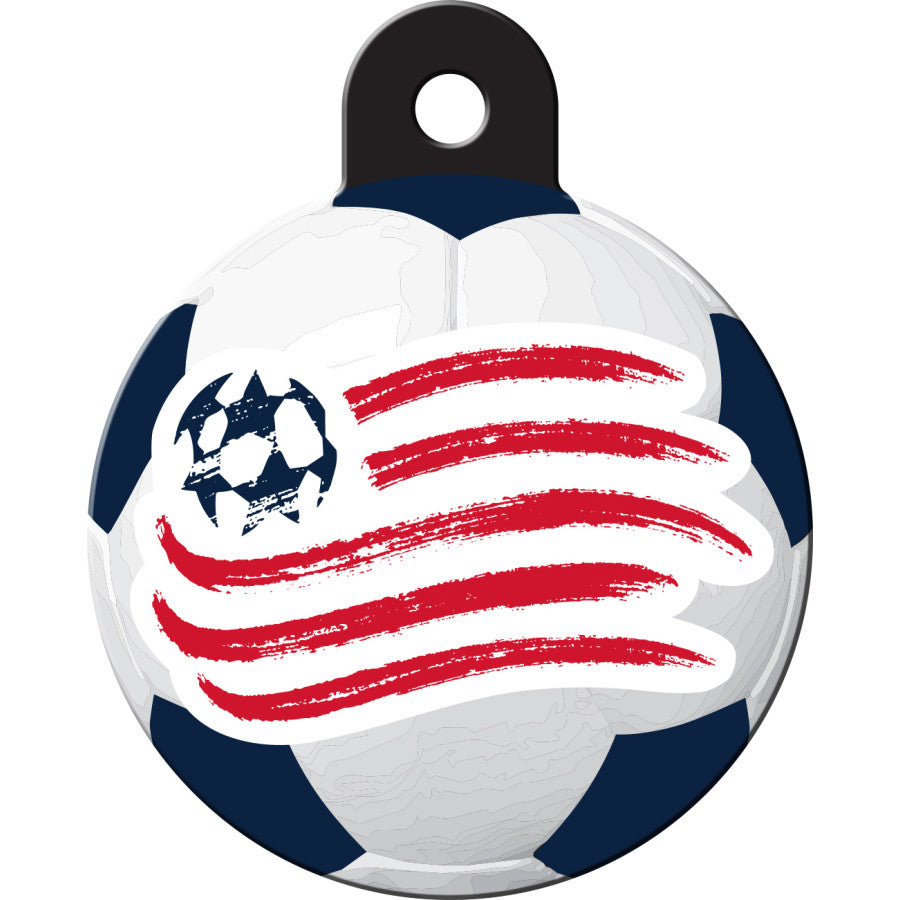 New England Revolution Pet ID Tags