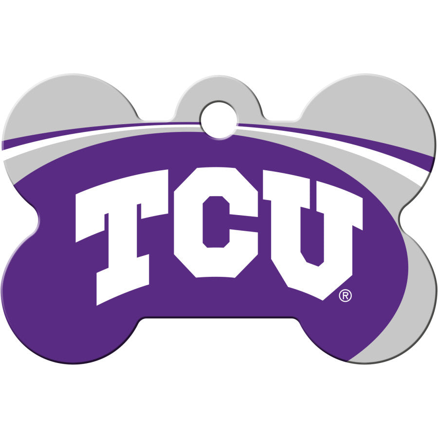 TCU Horned Frogs Pet ID Tags