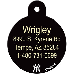 New York Yankees Pet ID Tags