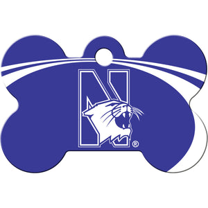 Northwestern Wildcats Pet ID Tags