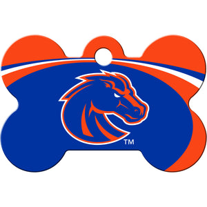 Boise State Broncos Pet ID Tags