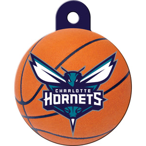 Charlotte Hornets Pet ID Tags