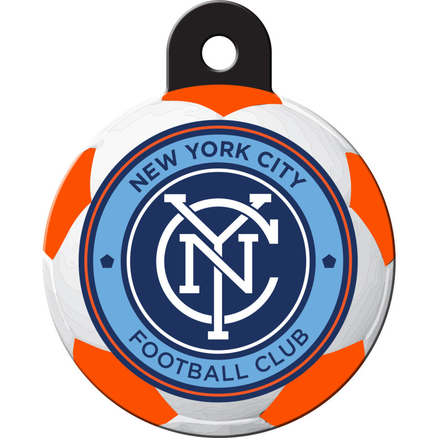 New York FC Pet ID Tags