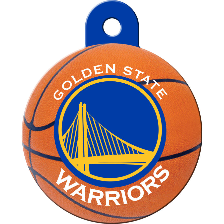 Golden State Warriors Pet ID Tags