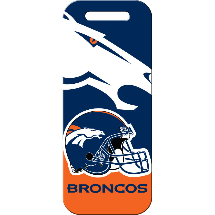 Denver Broncos Luggage ID Tags