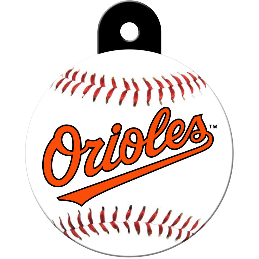 Baltimore Orioles Pet ID Tags