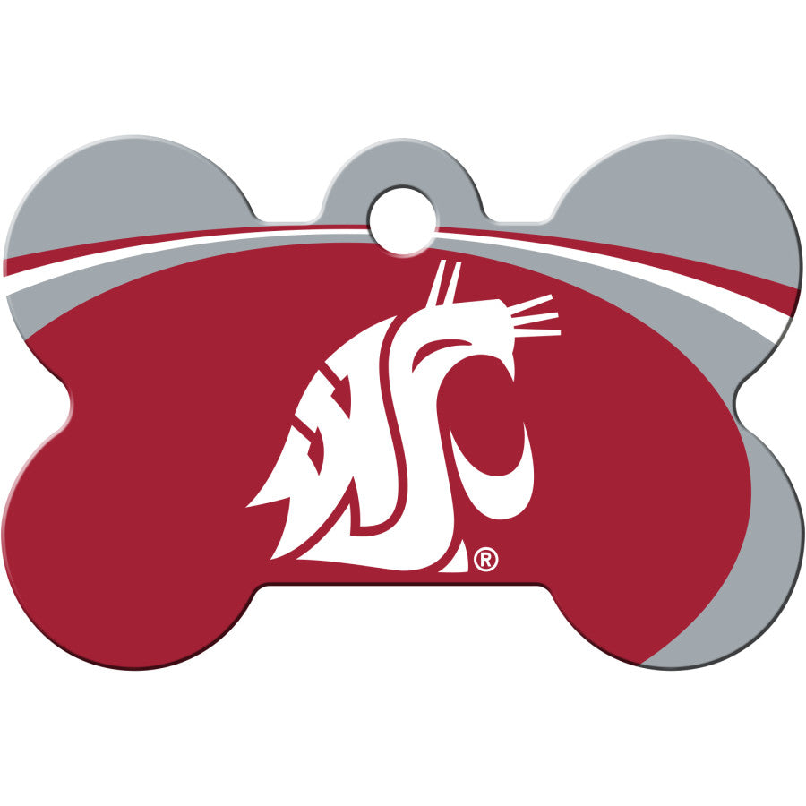 Washington State Cougars Pet ID Tags