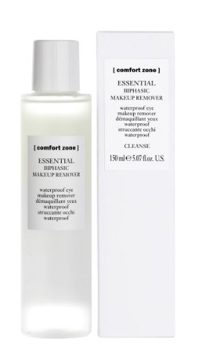 Essential biphasic make-up remover waterproof